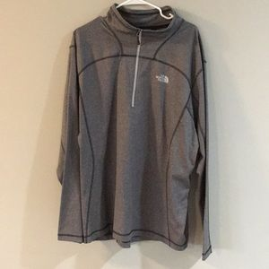 North Face 1/2 zip pullover, XXL